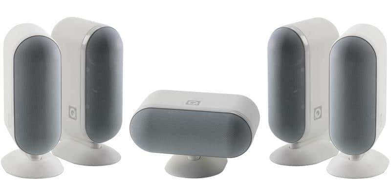 Q Acoustics Q7000i 5.0 Blanc Laqué