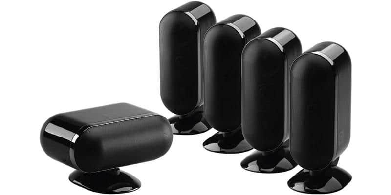 Q Acoustics Q7000i 5.0 Noir Laqué