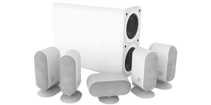 Q Acoustics Q7000i 5.1 Plus Blanc
