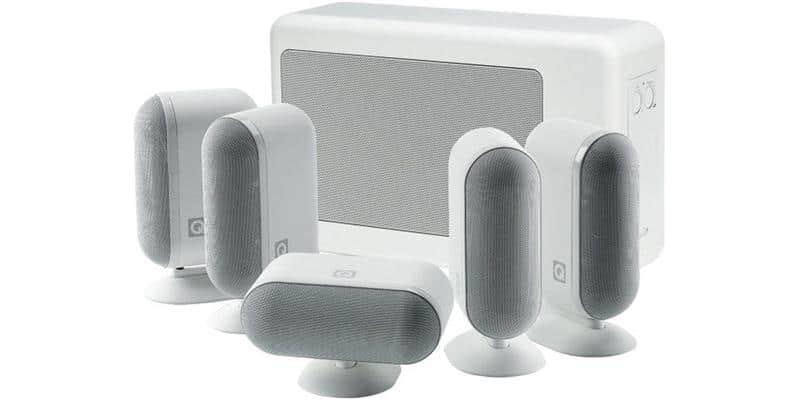 Q Acoustics Q7000i 5.1 Slim Blanc