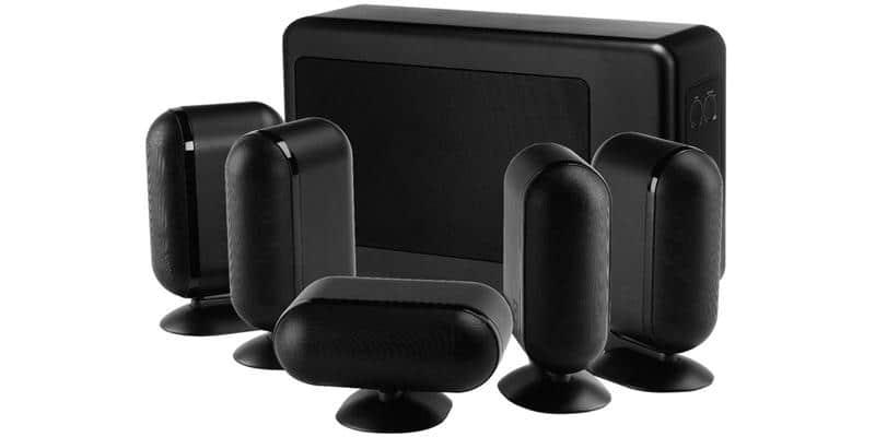 Q Acoustics Q7000i 5.1 Slim Noir