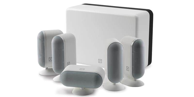 Q Acoustics Pack Q7000I 5.1 Blanc Laqué
