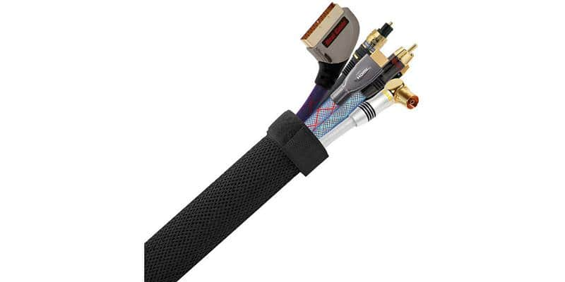 Real Cable Cache câbles CC88 (3 m) Noir