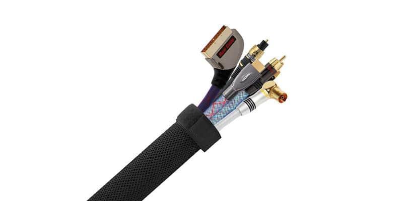 Real Cable Cache câbles CC88NR Noir