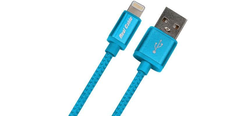 Real Cable iPlug Light Bleu (1 m)