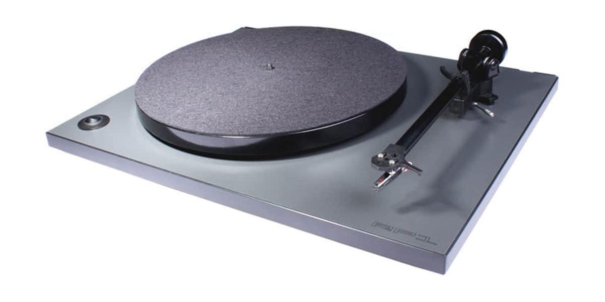 Rega rp1 gris fonc platines vinyles audiophiles sur easylounge - Platine vinyle audiophile ...