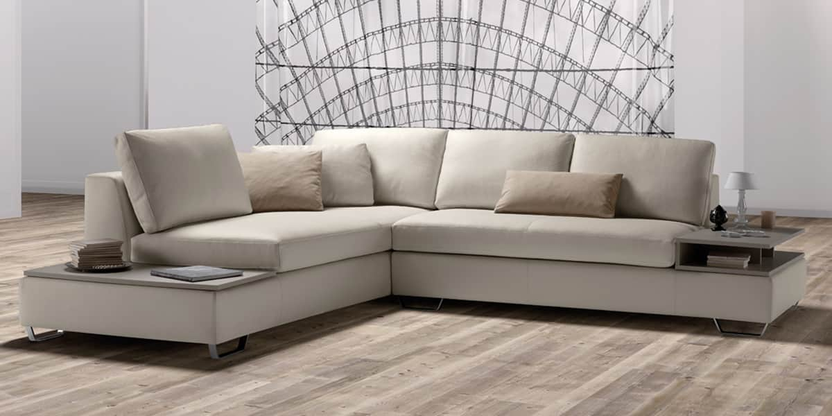 Samoa free 129 144 pelle extra 210 canap s d 39 angle sur for Canape 2 metres