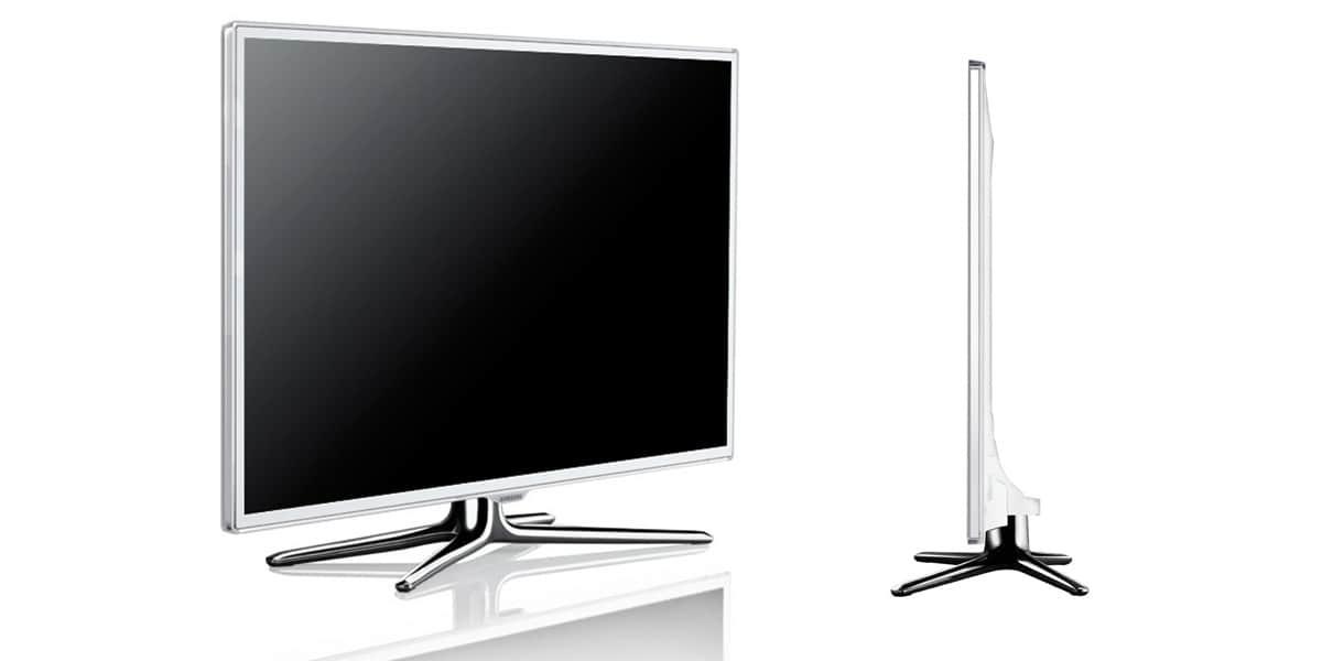 Samsung ue 46es6710 tv de 116 cm 127 cm sur easylounge - Televiseur led blanc ...