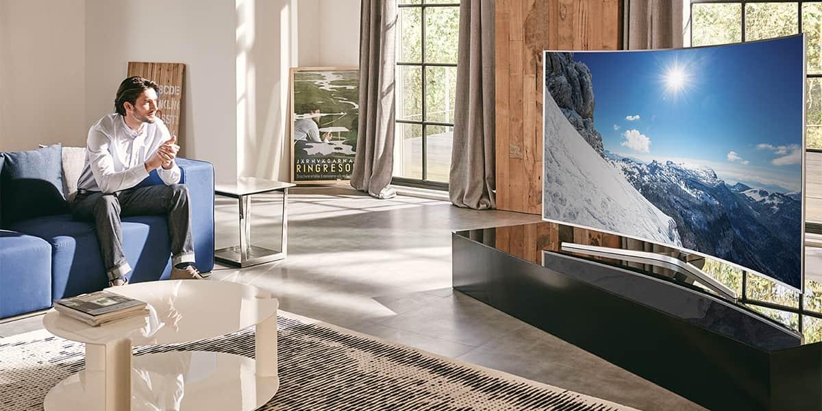 smart tv 48 tommer