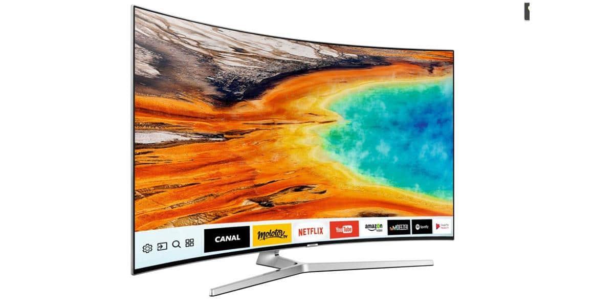 samsung samsung 55mu9005 t l viseurs uhd 4k sur easylounge. Black Bedroom Furniture Sets. Home Design Ideas