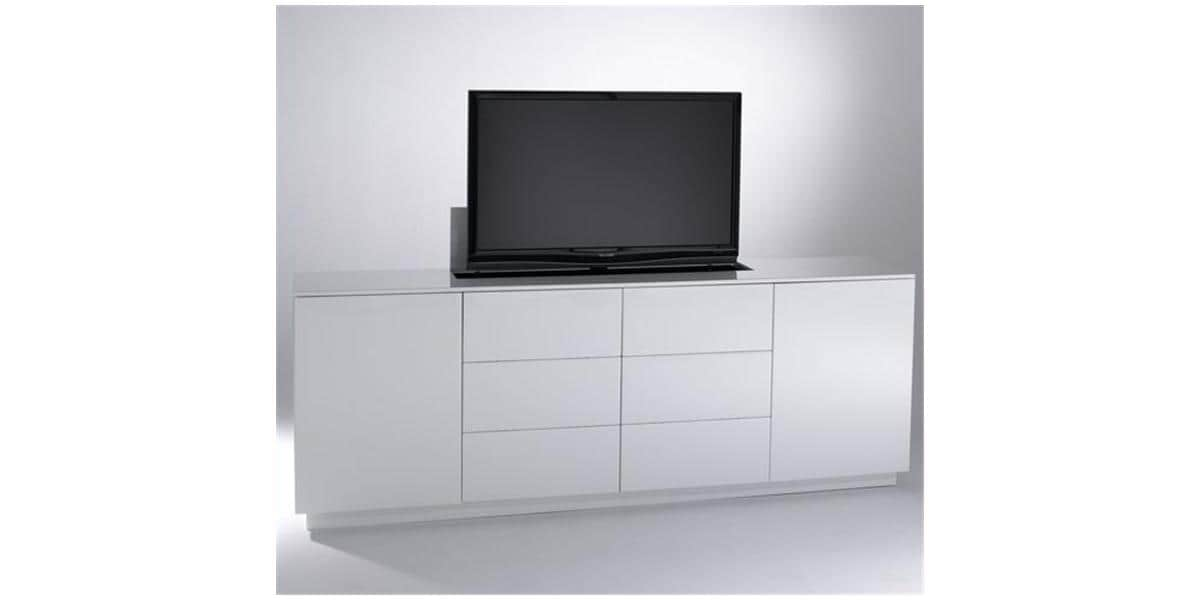 sb concept m2p6t2lb bl blanc meubles tv divers sur easylounge. Black Bedroom Furniture Sets. Home Design Ideas