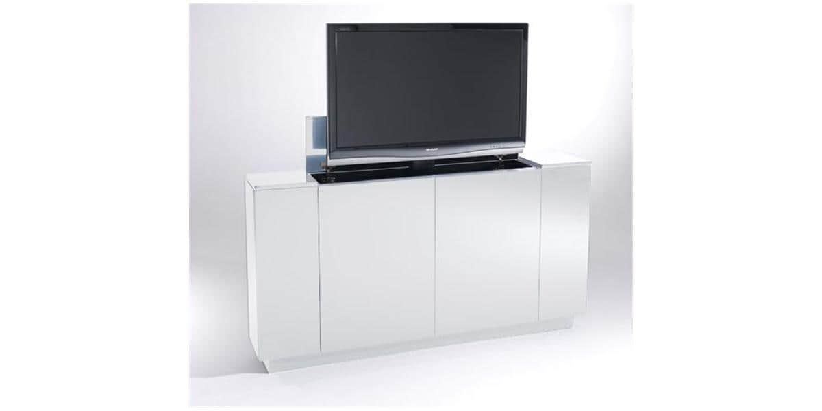 meuble tv escamotable ascenseur. Black Bedroom Furniture Sets. Home Design Ideas