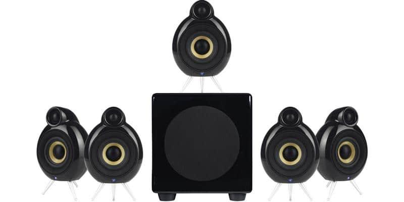 Scandyna MicroPod System 5.1 Noir