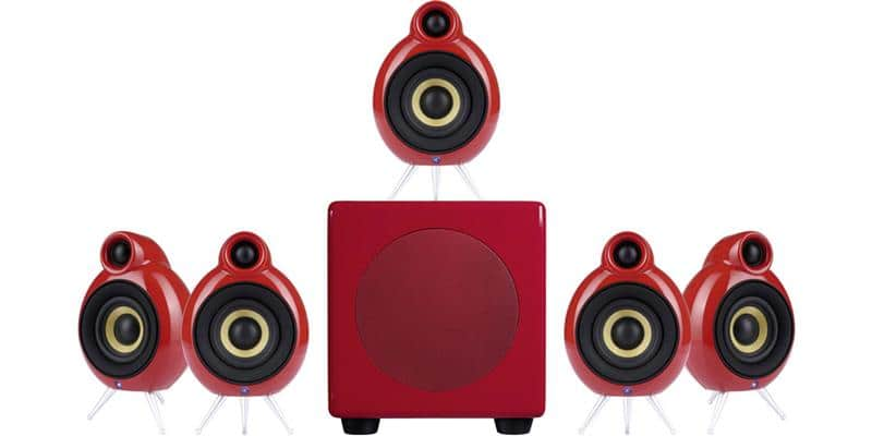 Scandyna MicroPod System 5.1 Rouge