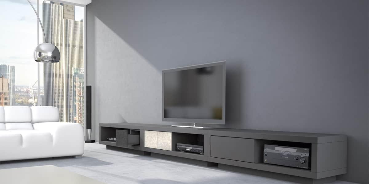 schnepel varic l 64058 gris meubles tv schnepel sur easylounge. Black Bedroom Furniture Sets. Home Design Ideas