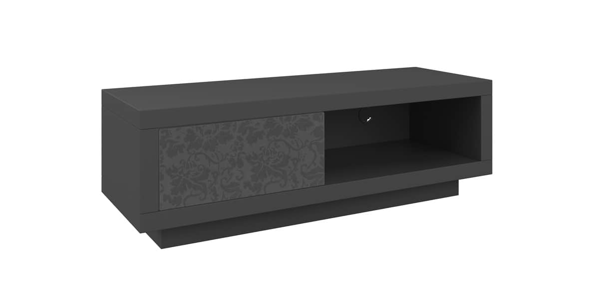 schnepel varic l 64064 anthracite et floral easylounge. Black Bedroom Furniture Sets. Home Design Ideas