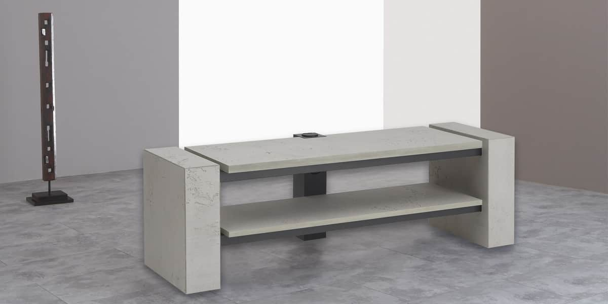 schnepel x linie 1400 ouvert b ton gris easylounge. Black Bedroom Furniture Sets. Home Design Ideas