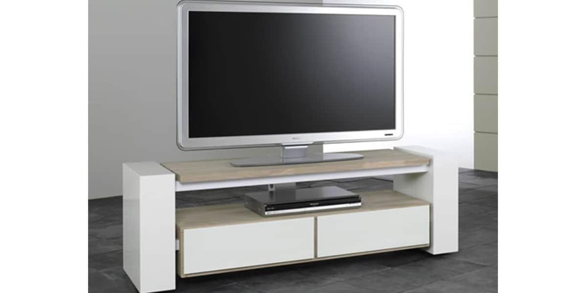 Meuble Tele Tres Bas : Schnepel X-linie Blancmeubles Tv Schnepel Sur Easylounge