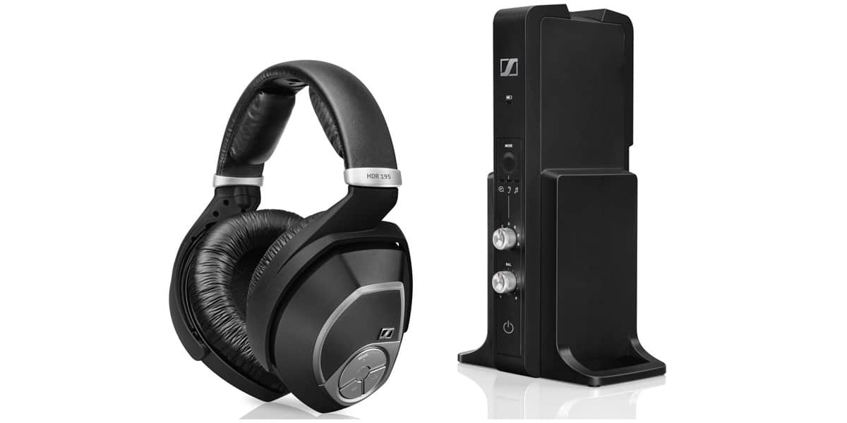 sennheiser rs 195 casques audio sans fil sur easylounge. Black Bedroom Furniture Sets. Home Design Ideas