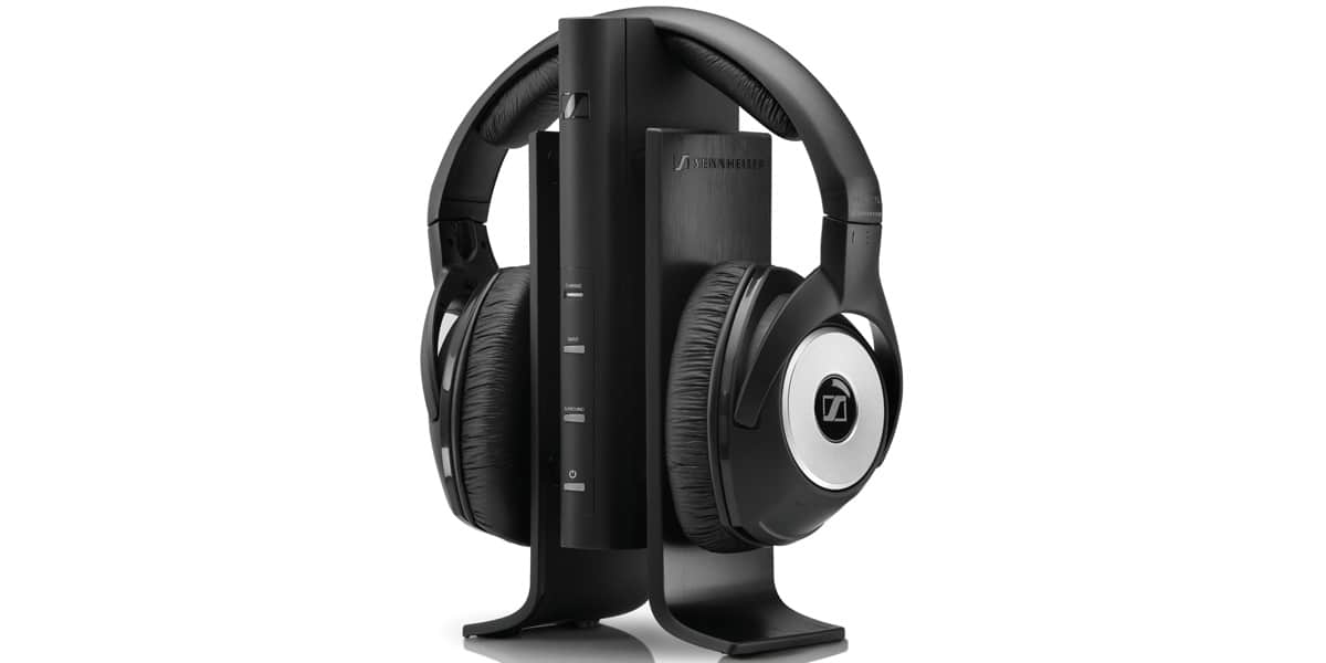 sennheiser rs 170 noir casques audio sans fil sur easylounge. Black Bedroom Furniture Sets. Home Design Ideas
