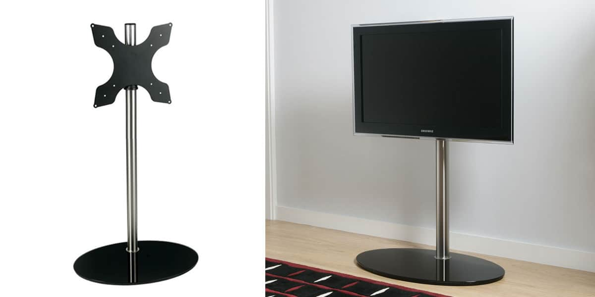 seri stylu disco 07 vn supports tv sur pied sur easylounge. Black Bedroom Furniture Sets. Home Design Ideas