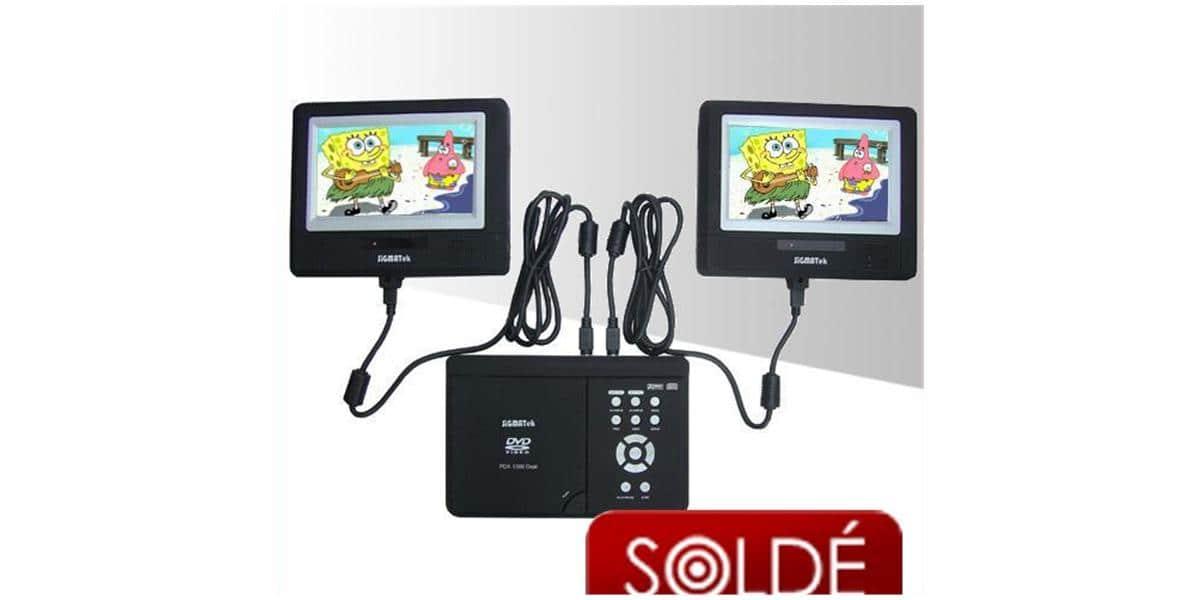 sigmatek pdx1300 lecteurs dvd portables sur easylounge. Black Bedroom Furniture Sets. Home Design Ideas