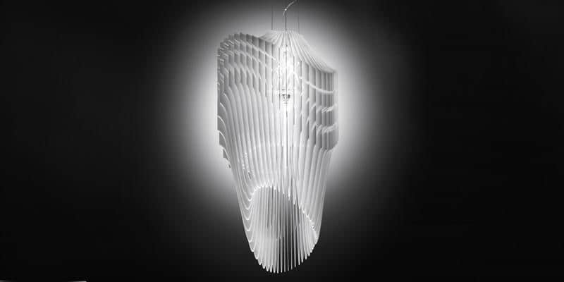 Slamp Suspension S Avia Blanc