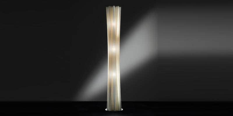 Slamp Lampe à poser Bach Gold XXL