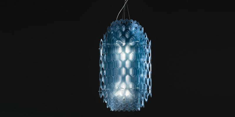 Slamp Suspension Chantal M bleu