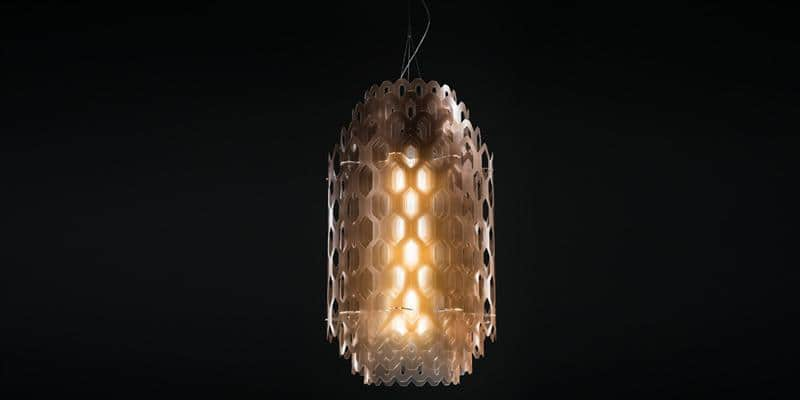 Slamp Suspension Chantal L orange