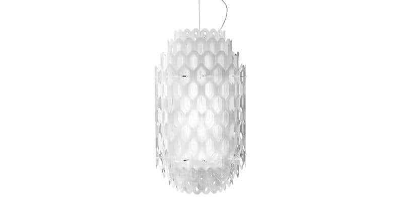 Slamp Suspension Chantal S Blanc
