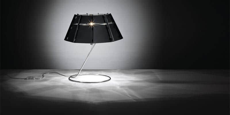 Slamp Lampe à poser Chapeau Noir