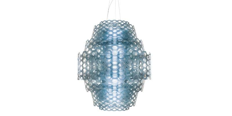 Slamp Suspension Charlotte bleu