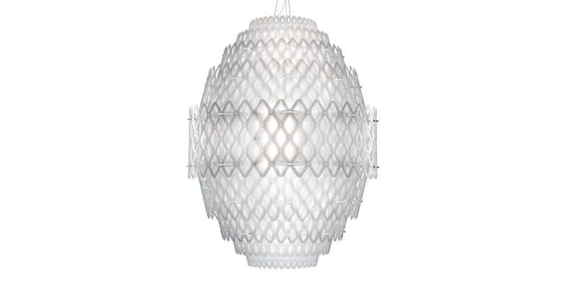 Slamp Suspension Charlotte Blanche