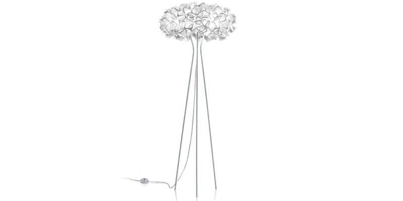 Slamp Lampe sur pied Clizia Blanc