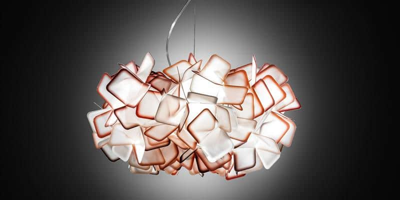 Slamp Suspension Clizia Orange