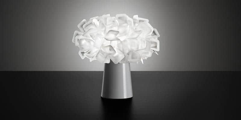 Slamp Lampe à Poser Clizia Blanc