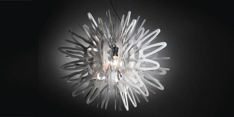 Slamp Suspension Creatures S Blanc