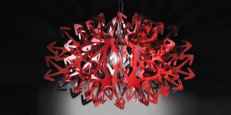Slamp Suspension Devil Rouge