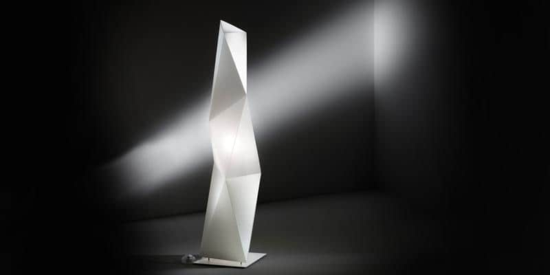 Slamp Lampe à poser Diamond Blanc