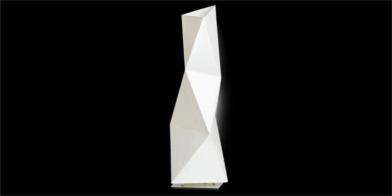 Slamp Lampe à poser Diamond Blanc M par Slamp