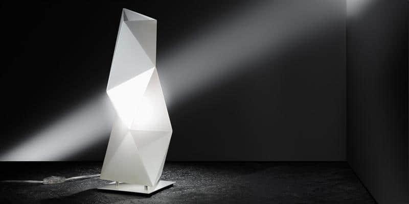 Slamp Lampadaire Diamond Blanc S