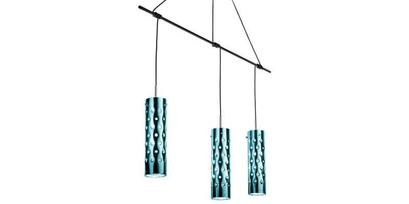 Slamp Suspension Dimple Trio Émeraude