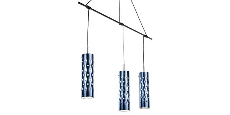 Slamp Suspension Dimple Trio Bleu