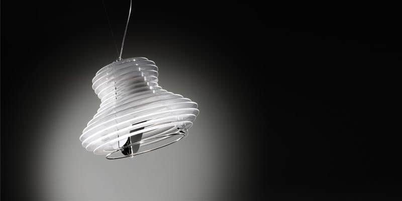 Slamp Suspension Faretto Blanc