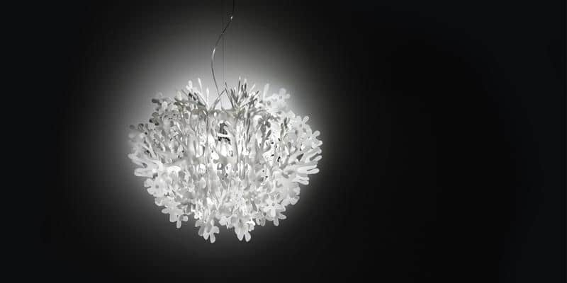 Slamp Suspension Fiorella Blanc