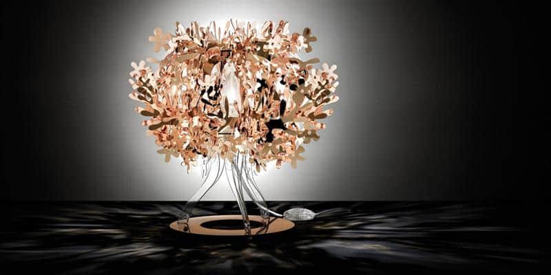 Slamp Lampe à poser Fiorella Copper