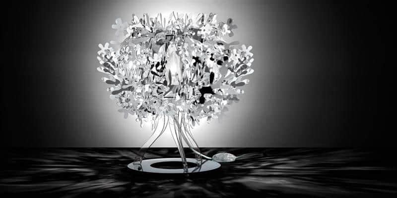 Slamp Lampe à poser Fiorella Silver