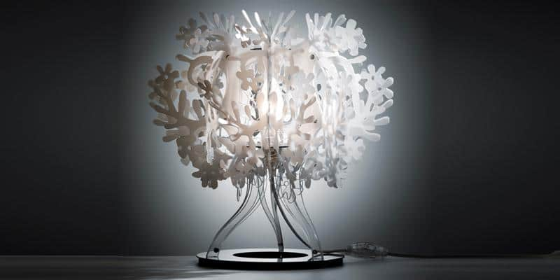 Slamp Lampe à poser Fiorella Blanc