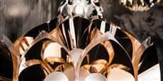 Slamp Lampe sur Pied Flora Copper